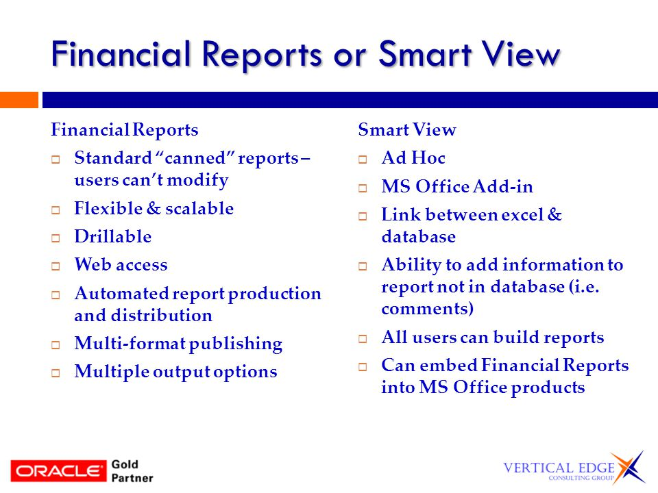Smart View Reports Functions – use smart view functions to create a report in excel