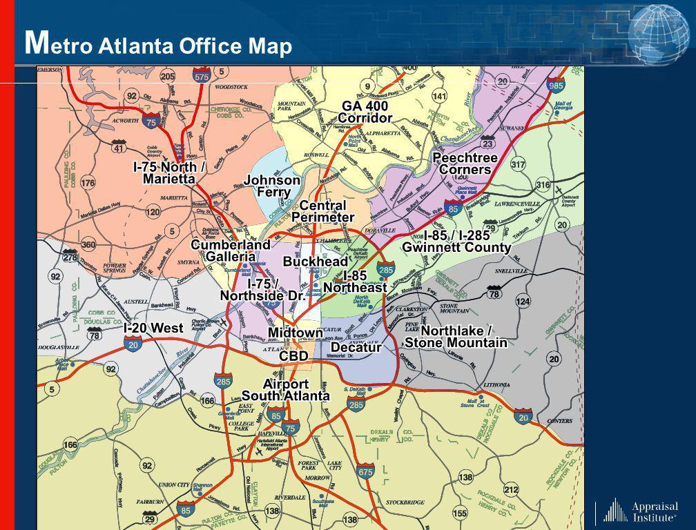 M etro Atlanta Office Map