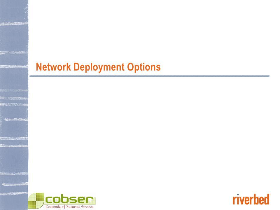 Network Deployment Options