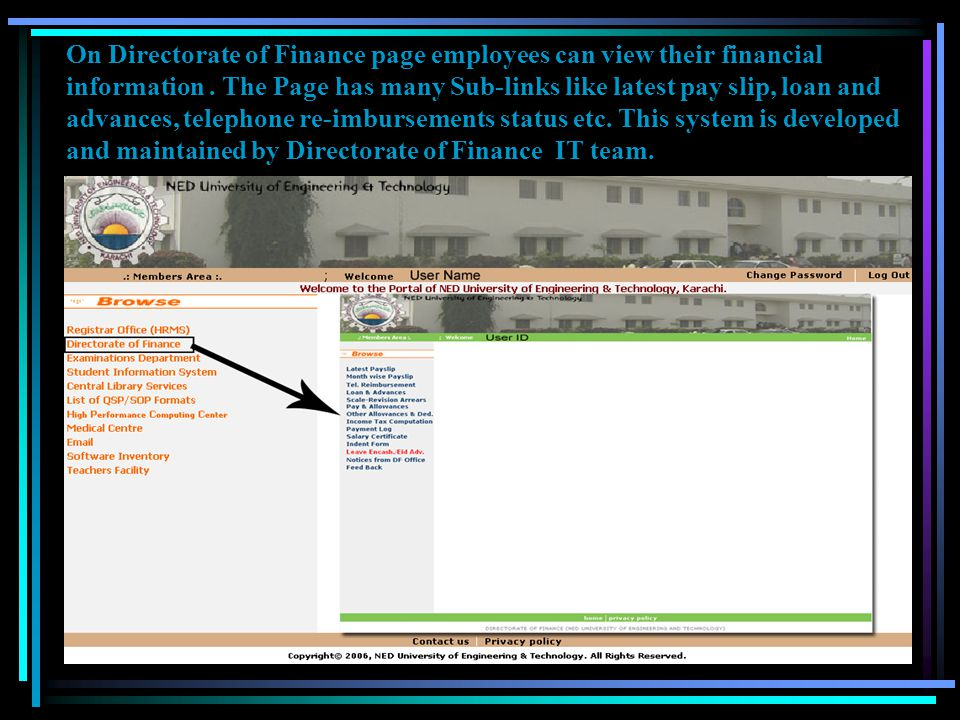 Snapshot of Employment History Report