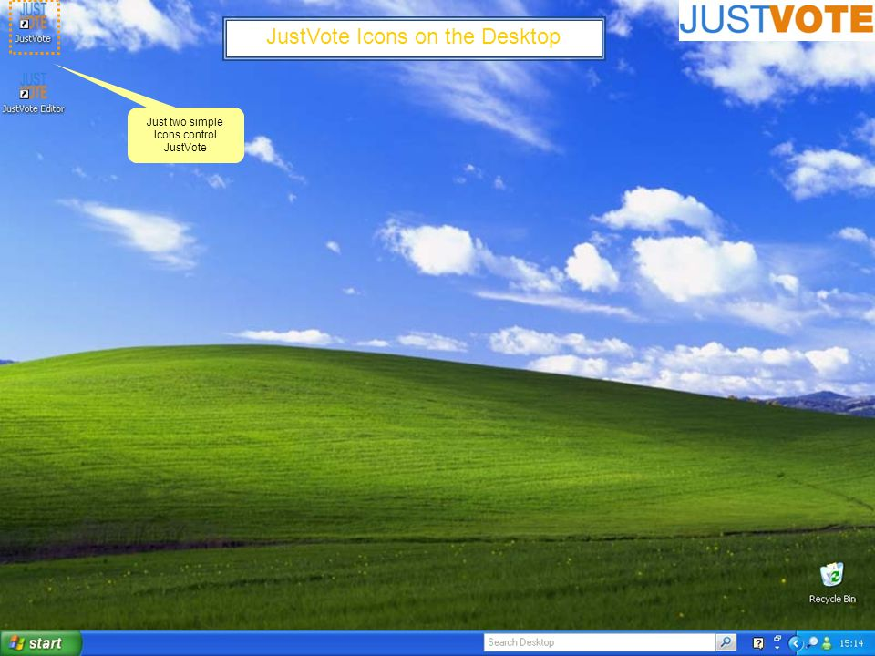 JustVote Main Command Screen (Teacher Personal Information) Save the teachers records to anywhere on the PC or on a server