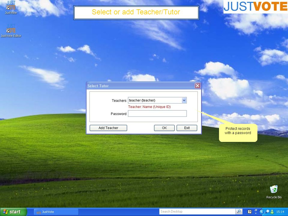 Creating PowerPoint questions for JustVote (Writing a basic question) If you can use PowerPoint you can write JustVote questions