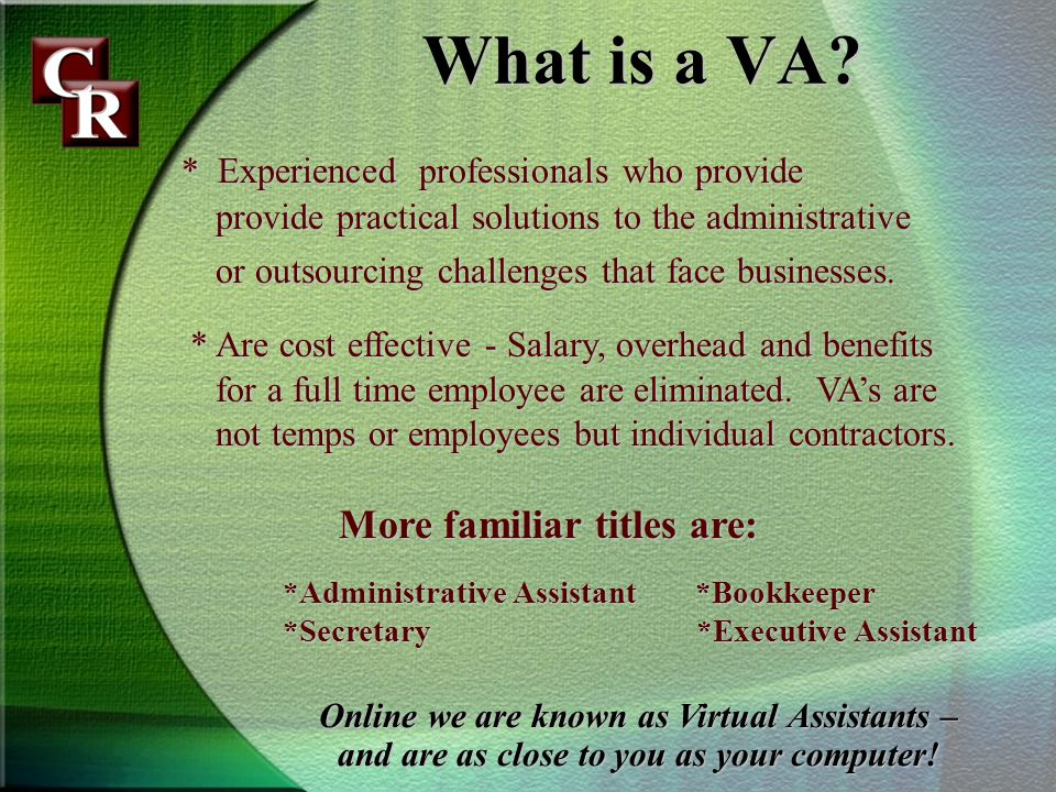 What is a VA.