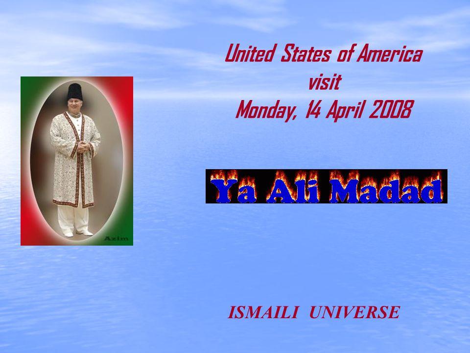 The Aga Khan (L), spiritual leader of Ismaili Muslims, and California Governor Arnold Schwarzenegger talk in Santa Monica, California, April 14, 2008.