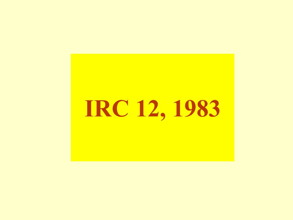 IRC 12, 1983
