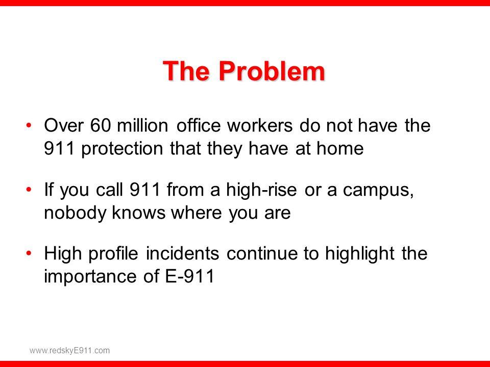 E911 – Emergency On-Site Notification (EON)
