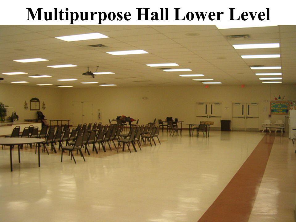 Multipurpose Hall Lower Level