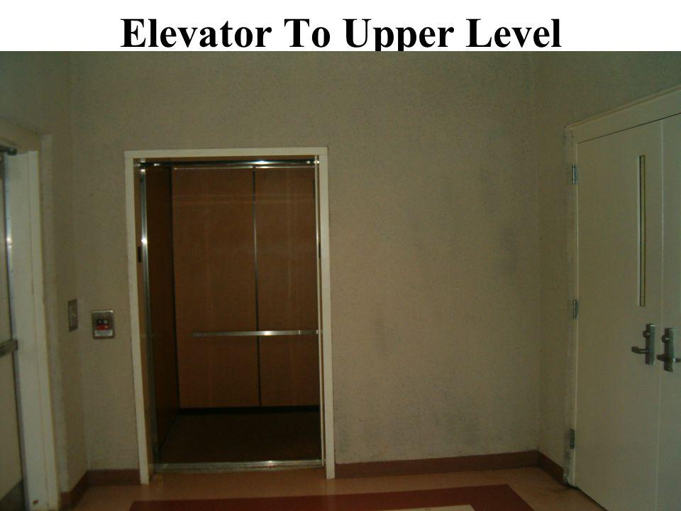 Elevator To Upper Level