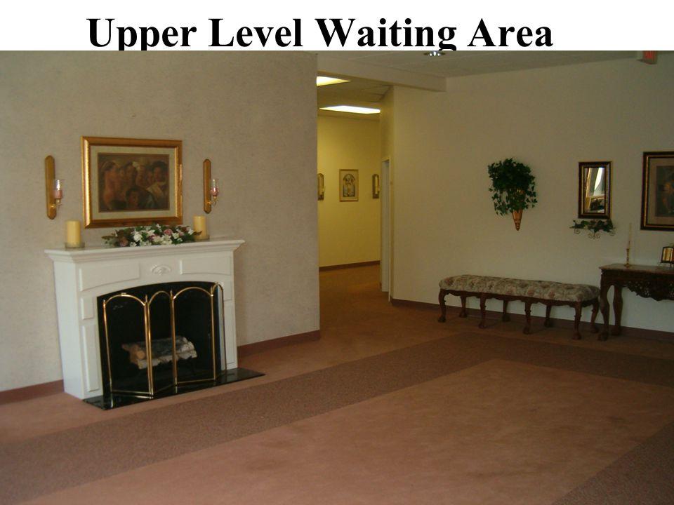 Upper Level Waiting Area
