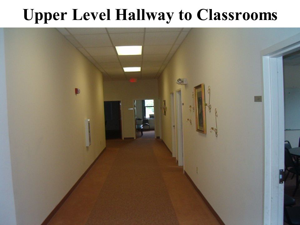 Upper Level Hallway to Classrooms