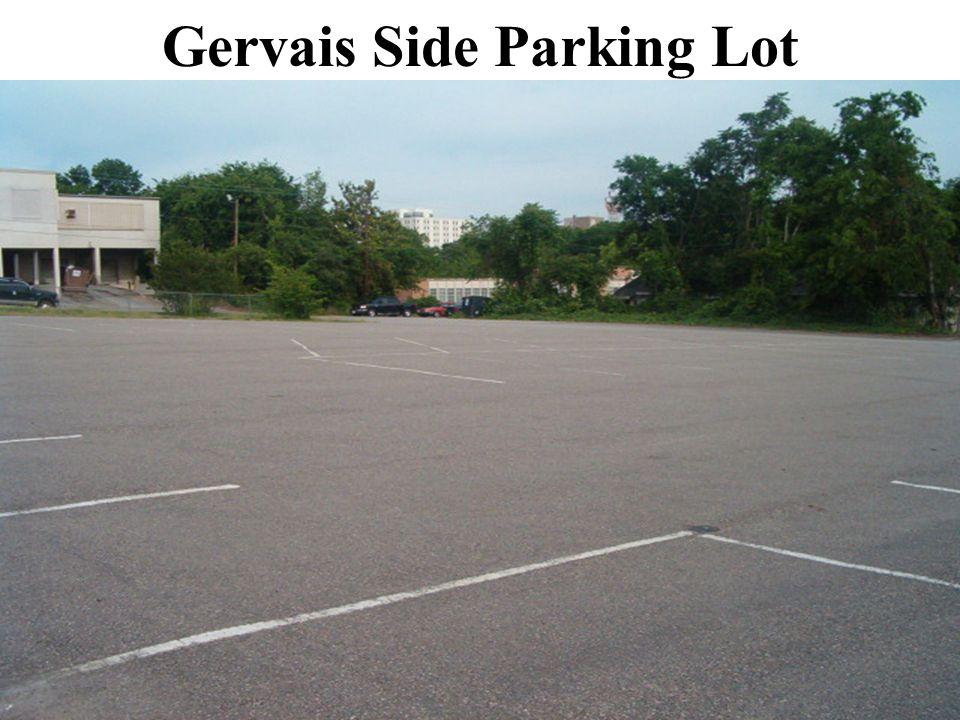 Gervais Side Parking Lot