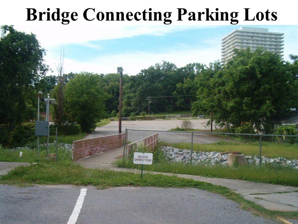 Bridge Connecting Parking Lots
