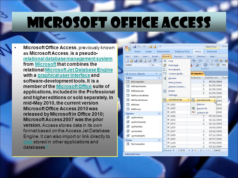 MICROSOFT OFFICE INFOPATH Microsoft InfoPath (full name Microsoft Office InfoPath) is an application used for developing XML-based data entry forms, initially released as part of Microsoft Office 2003 Professional.