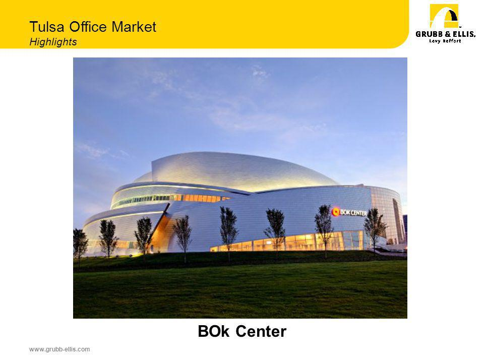 www.grubb-ellis.com Tulsa Office Market Highlights BOk Center