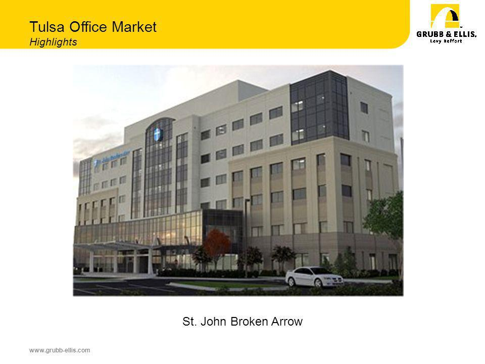 www.grubb-ellis.com Tulsa Office Market Highlights St. John Broken Arrow