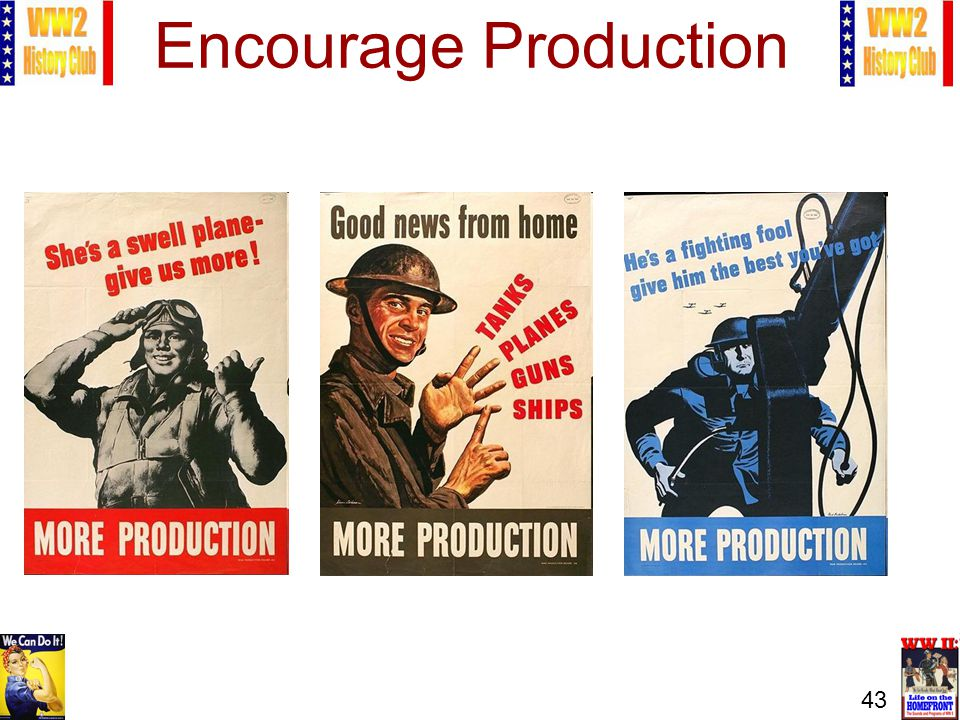 43 Encourage Production