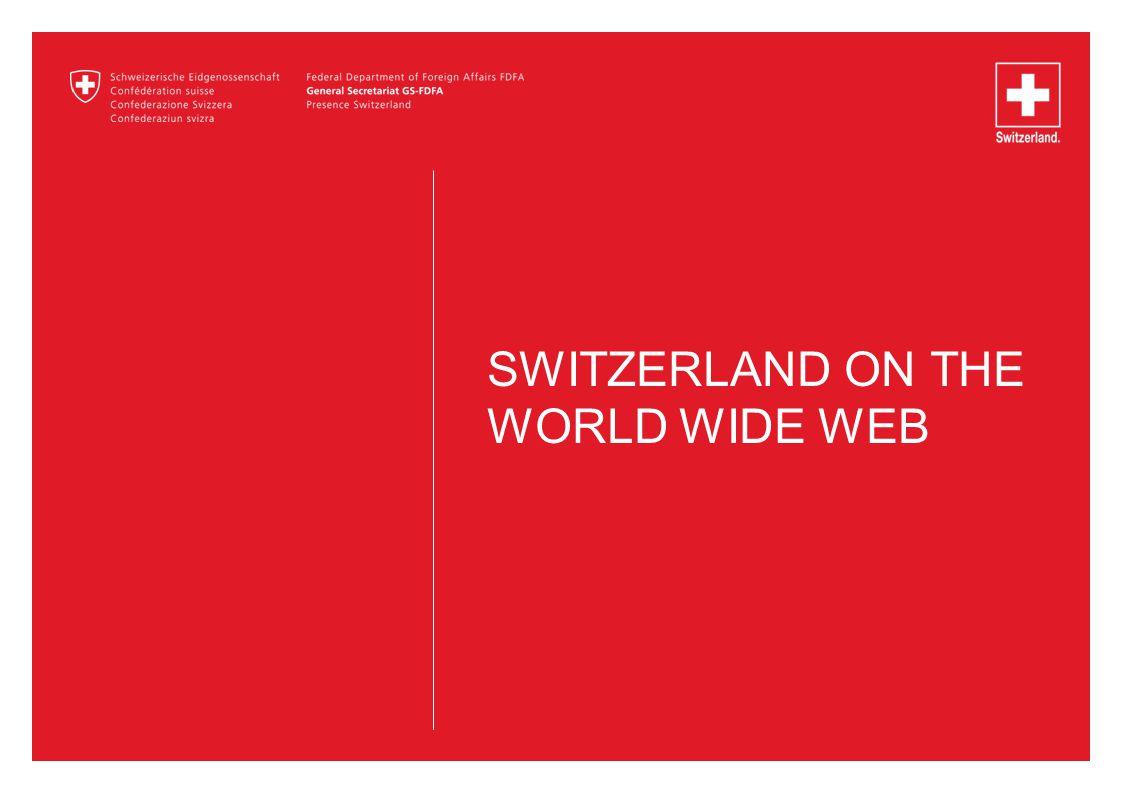 SWITZERLAND ON THE WORLD WIDE WEB
