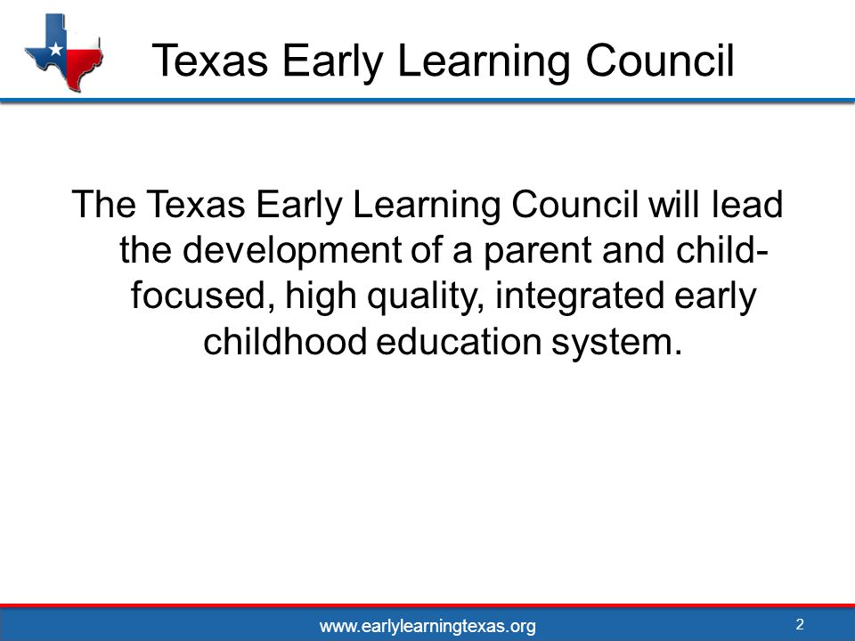 Strategies 33 Workforce and Professional Development Survey institutions of higher education to evaluate their ability to meet the demands of the Texas ECE workforce now and into the future Uncover gaps in preparedness Assess the Capacity and the Effectiveness of Higher Education to Meet the Needs of the ECE Workforce www.earlylearningtexas.org