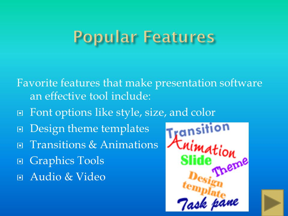 Student Reports Business Presentations Photo Albums Teacher Presentations Sales Presentations