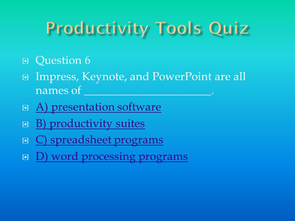 Presentation software would help him get his point across in his demonstration speech.