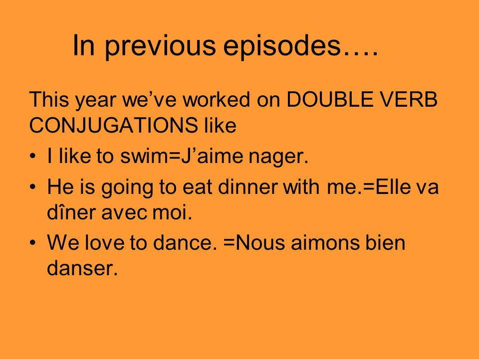 In previous episodes….