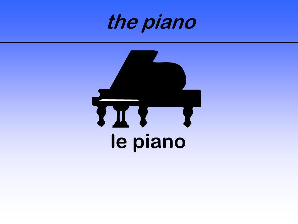the piano le piano