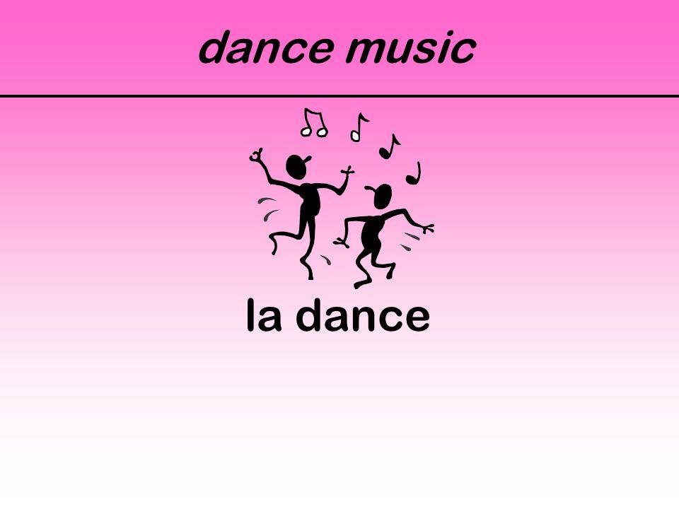 dance music la dance