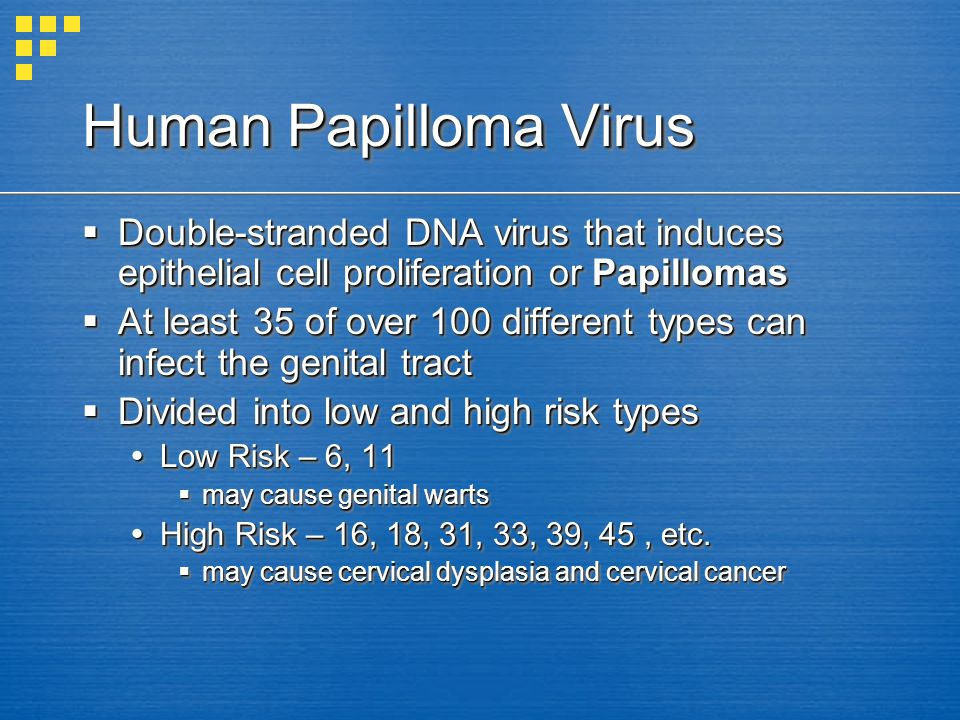 Human Papilloma Virus Double-stranded DNA virus that induces epithelial cell proliferation or Papillomas Double-stranded DNA virus that induces epithe