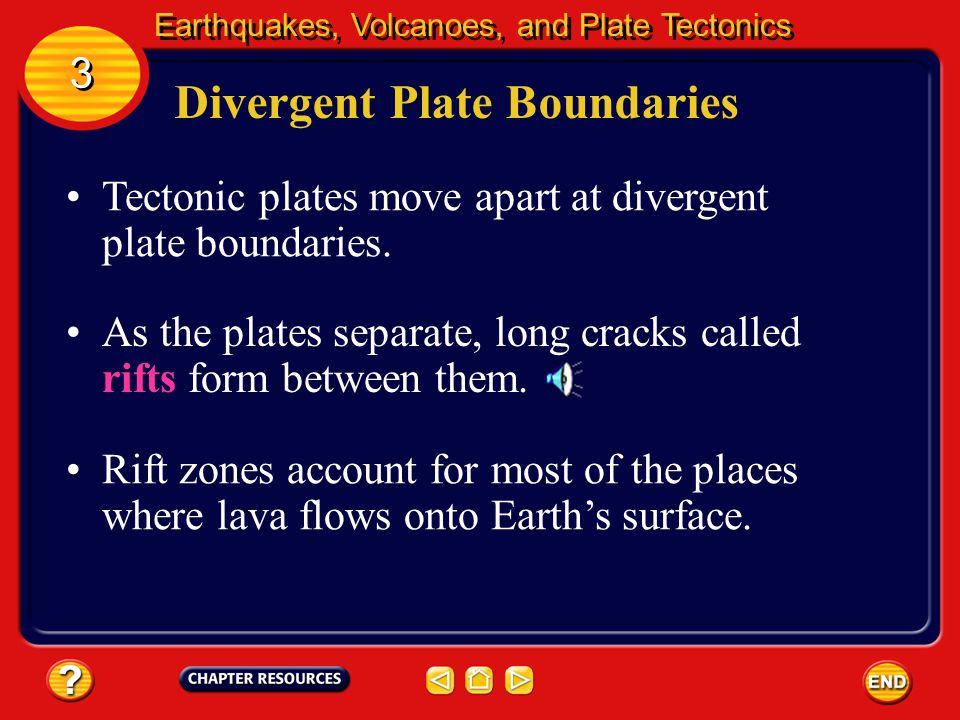 Where Volcanoes Form A plot of the location of plate boundaries and volcanoes on Earth shows that most volcanoes form along plate boundaries. Earthqua