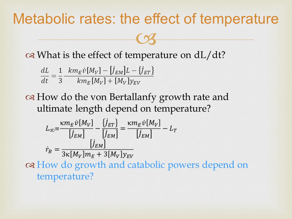 What is the effect of temperature on dL/dt.
