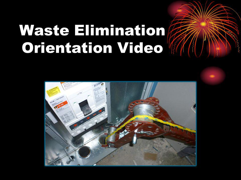 Waste Elimination Orientation Video