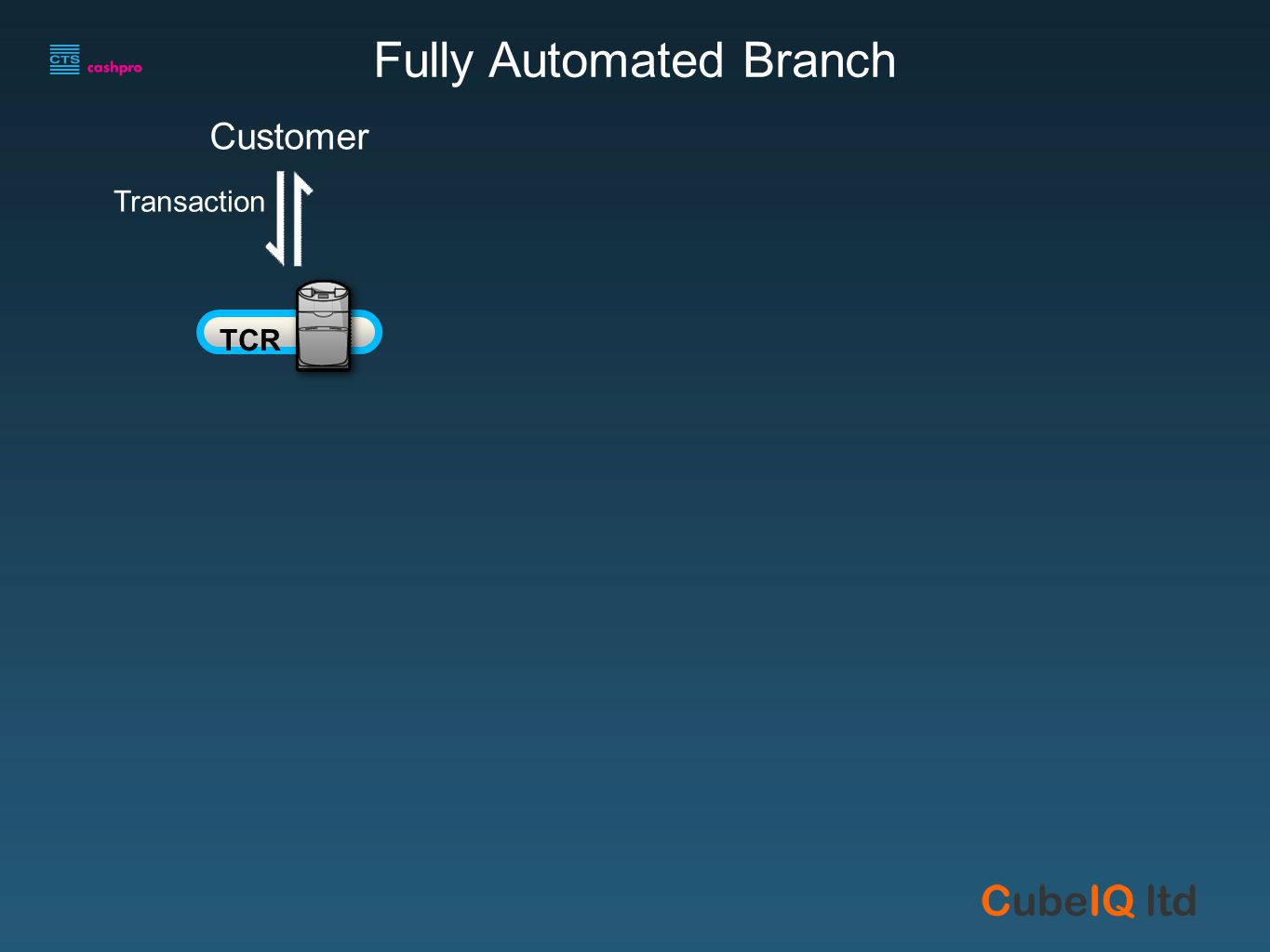 Customer Transaction Fully Automated Branch TCR