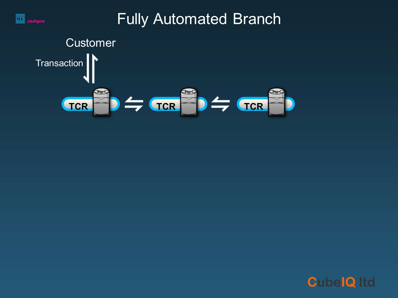 v\ CM24B Customer Fully Automated Branch Customer Transaction TCR