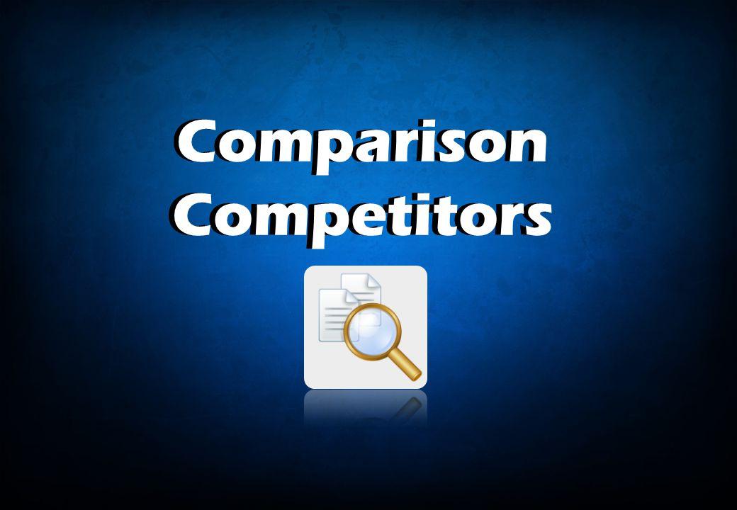 Comparison Competitors