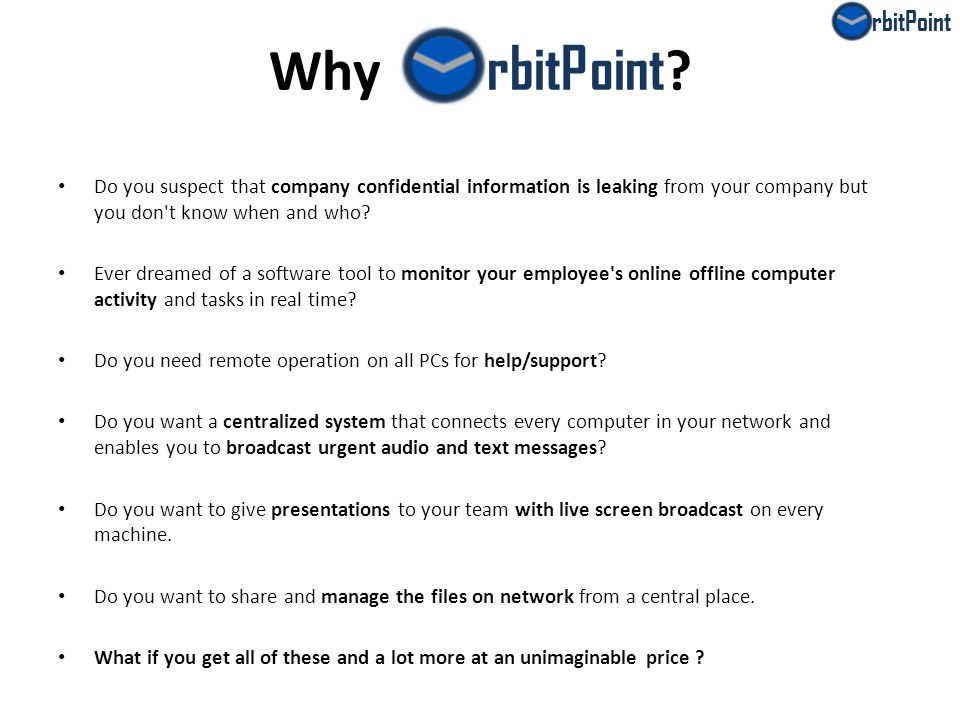 Why rbitPoint .