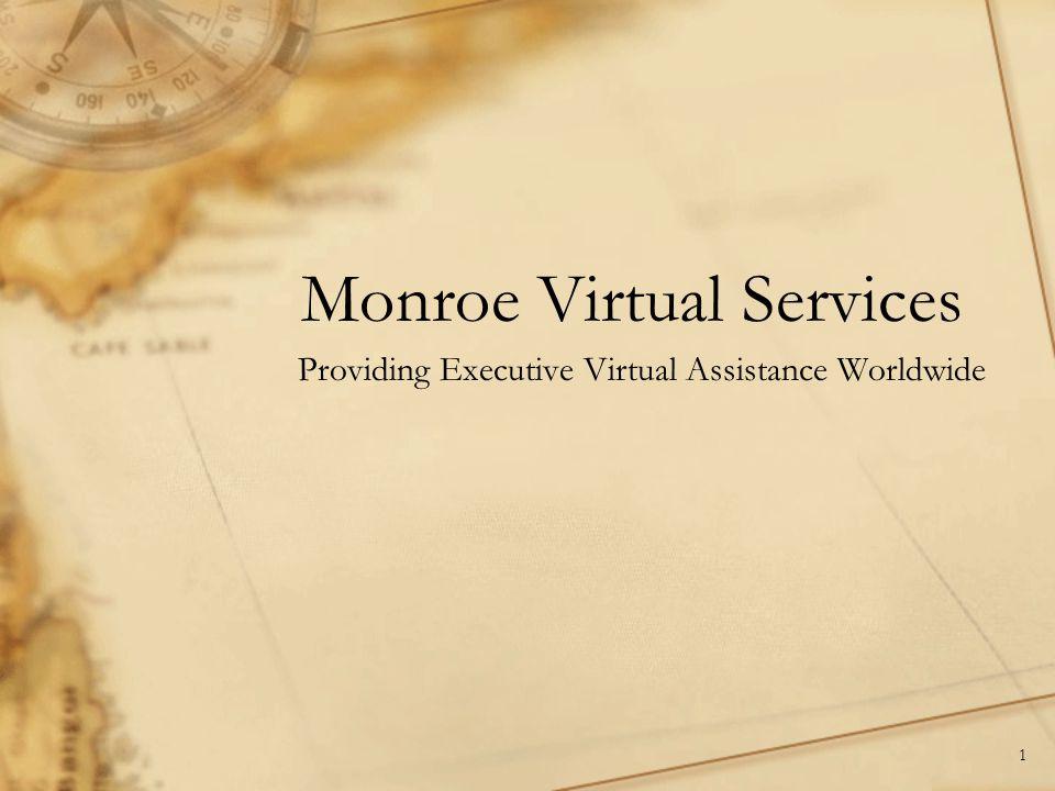 Monroe Virtual Services Providing Executive Virtual Assistance Worldwide 1