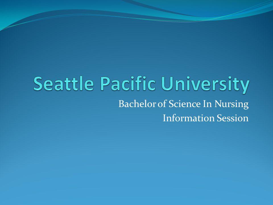 Bachelor of Science In Nursing Information Session
