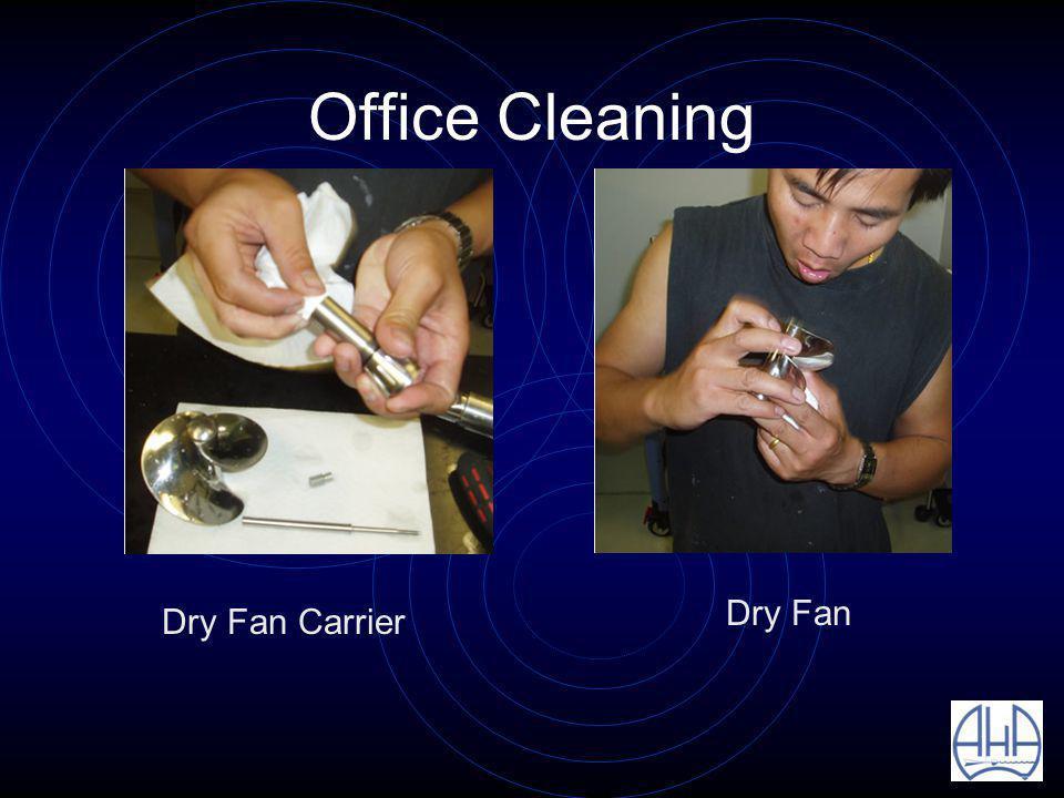 Office Cleaning Dry Fan Carrier Dry Fan