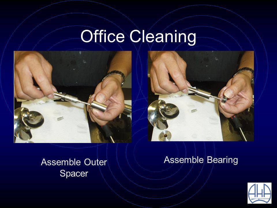 Office Cleaning Assemble Outer Spacer Assemble Bearing