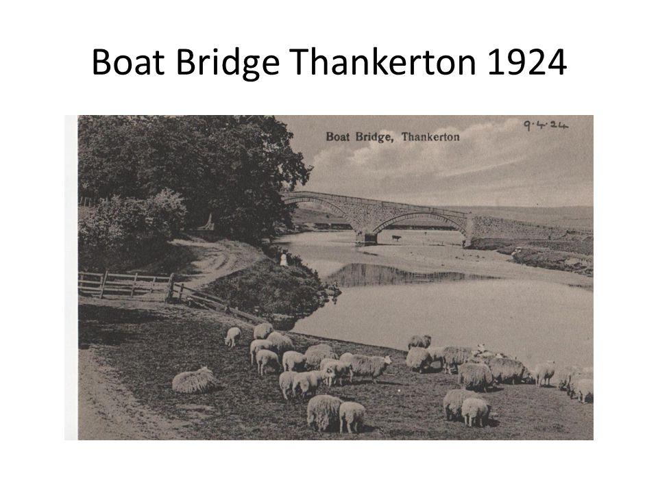 Boat Bridge Thankerton 1924