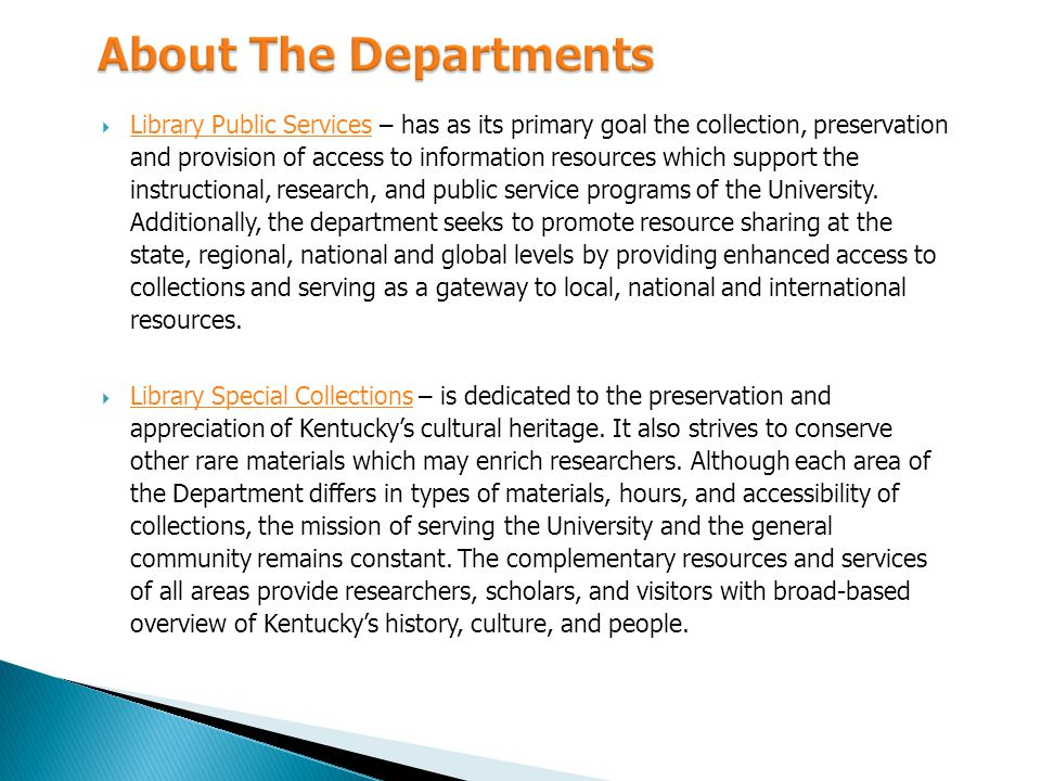 For the organizational Charts of Libraries Faculty and Staff, visit http://www.wku.edu/library/staff/index.phpwww.wku.edu/library/staff/index.php