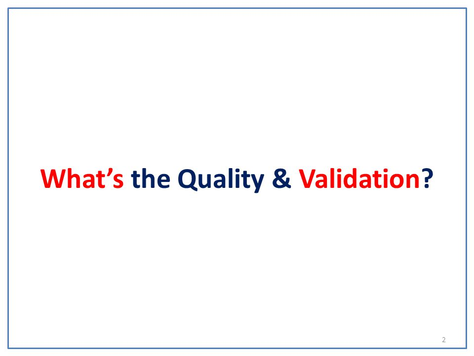 3 Quality and Validation is part of the University Registrars Department and is responsible for policy development and operational oversight of the academic quality assurance and enhancement procedures and UK validation arrangements
