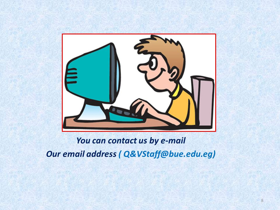 Students can get help from Q &V on a variety of topics.