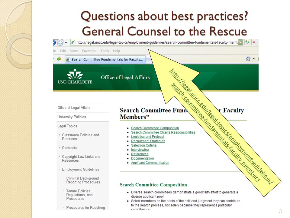 Questions about best practices.