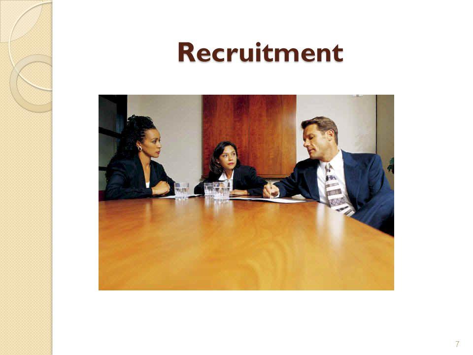Recruitment 7