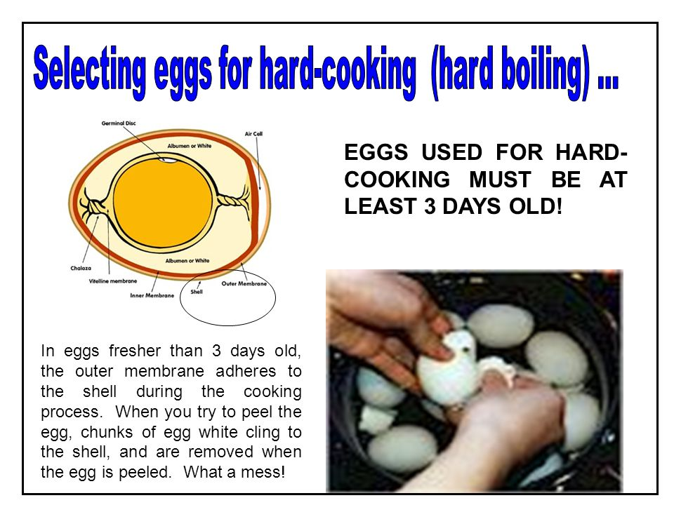 Egg whites start out being slimy. As they are beaten, air is added. The whites turn from pale yellow to white in color and increase in volume. The mor