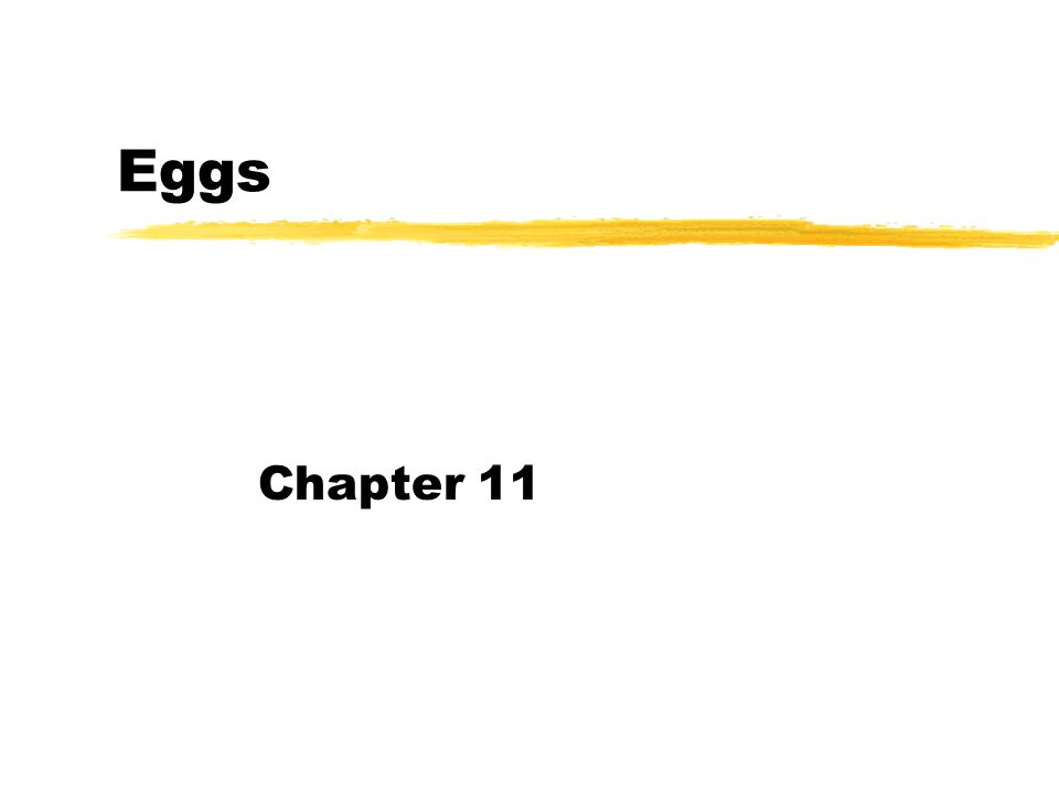 Foods containing eggs
