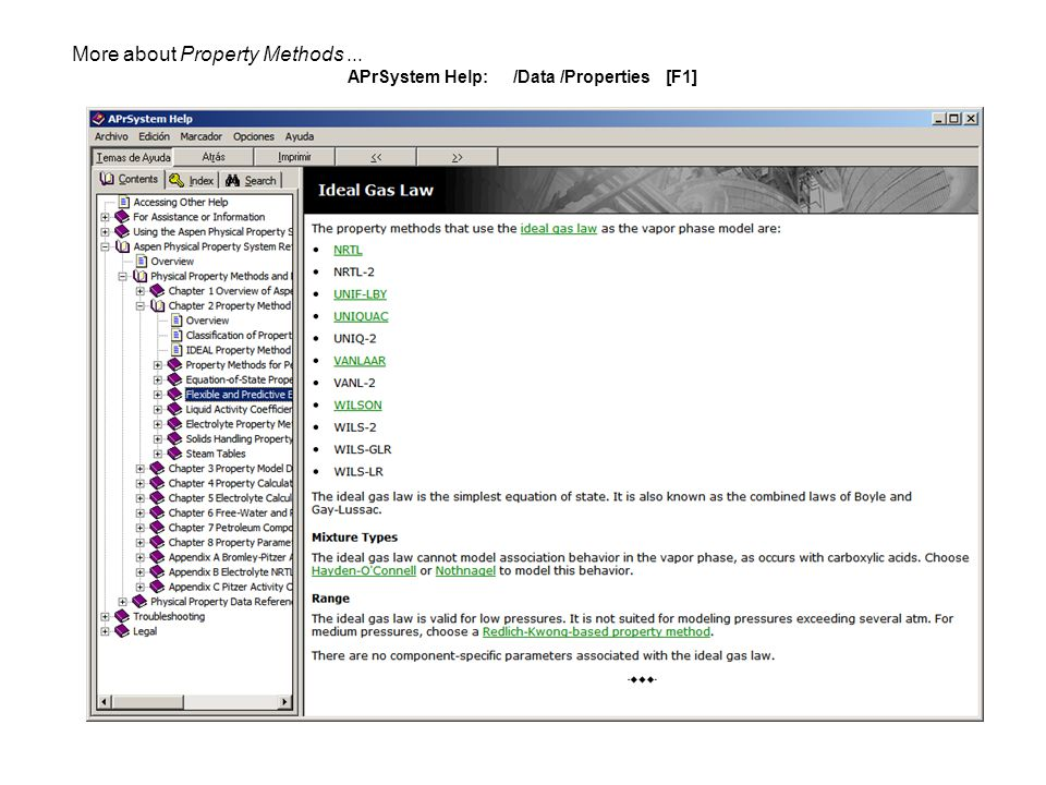 More about Property Methods... APrSystem Help: /Data /Properties [F1]