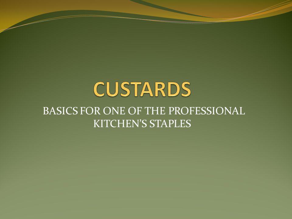What is a Custard.