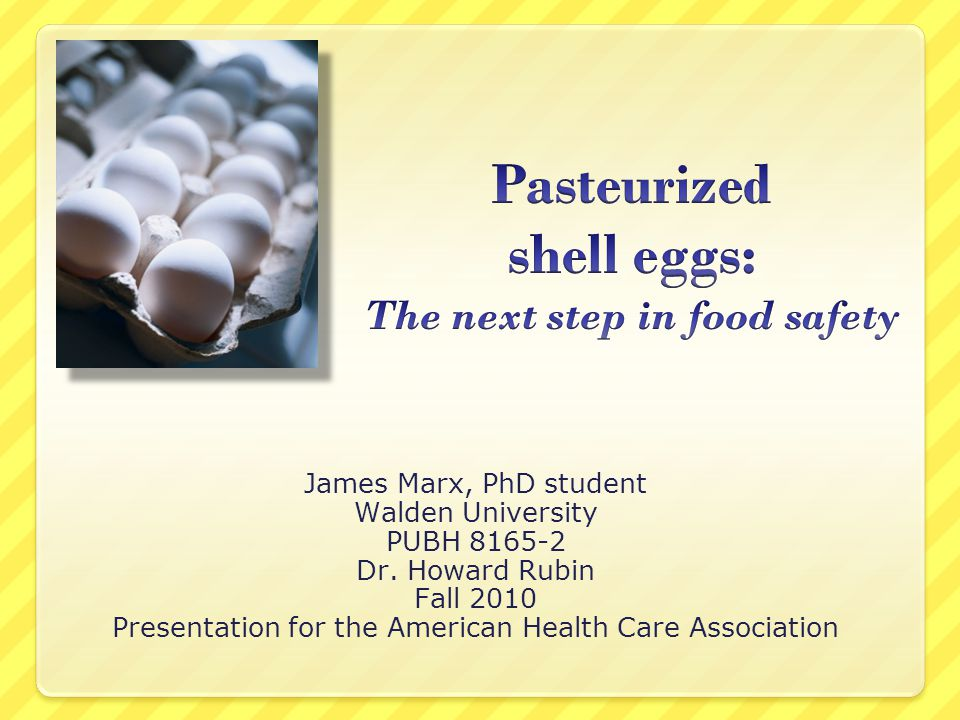 James Marx, PhD student Walden University PUBH 8165-2 Dr.